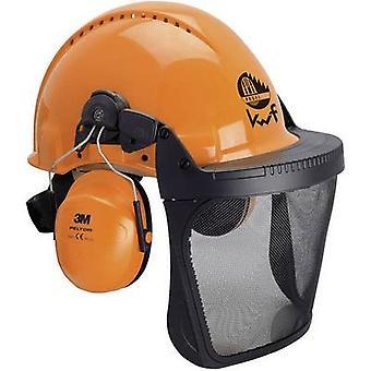3M Wald XA007707350 Förster harten Hut eingebaut Gesicht Schild Orange