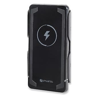 4Smarts universal power Bank WPI QI charging station 6000 mAh inductive black