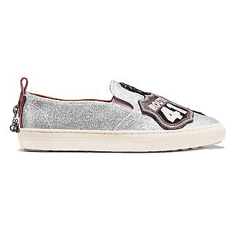 Coach Women's Slip on Shoes Sneakers with Cherry Patches