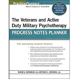 De veteranen en de actieve dienst militaire psychotherapie vooruitgang notities Planner