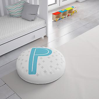 Meesoz Floor Cushion - Letter Boy - P