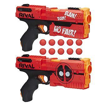 Nerf Rival Kronos 2 plecak Deadpool zabawka