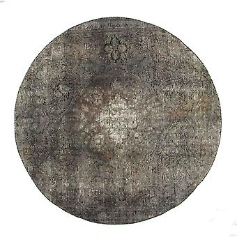 Handknuten Persisk Vintagematta Tabriz Ull 160cm