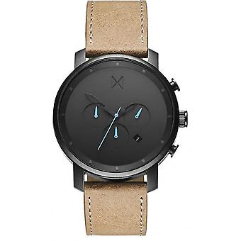 MVMT D-MC01GML Watch - Men's Brown Leather TimeWatch