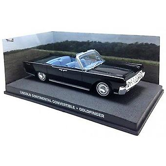 Lincoln Continental Convertible Diecast Model Car from James Bond Goldfinger