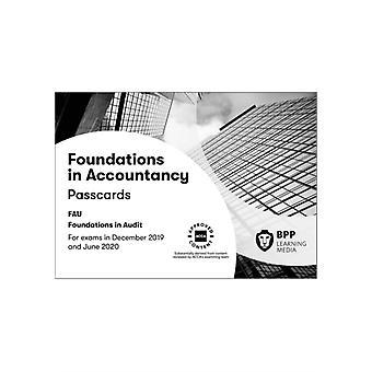 FIA Foundations in Audit International FAU INT