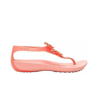 Crocs Serena 2056006PT universelle Sommer Damen Schuhe