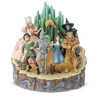 Jim Shore Heartwood Creek Wizard Of Oz Carved By Heart Figurine