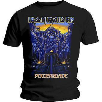 Iron Maiden Powerslave Cover Steve Harris T-Shirt oficial