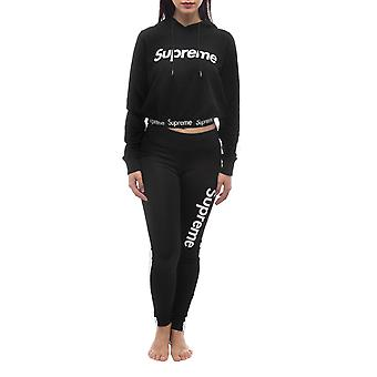 Black Women's Supreme Grip Tracksuits
