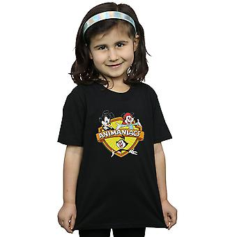 Animaniacs Girls Logo Crest T-Shirt