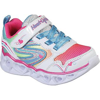 Skechers Girls S Lights Heart Lights Love Spark Sport Shoes