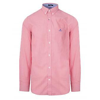 GANT GANT rot regular Fit Broadcloth Shirt
