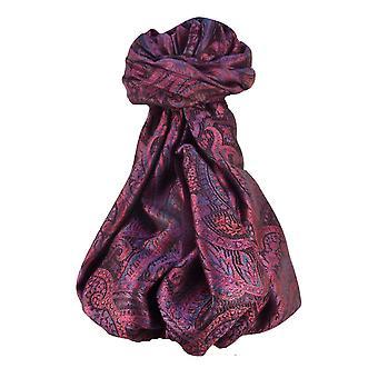 Mens Jamawar Premium Silk Scarf Pattern 8369 by Pashmina & Silk