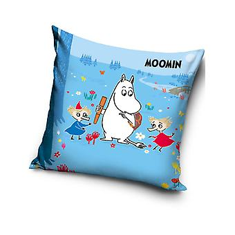 Moomin Blauw Gevuld Kussen