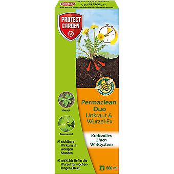 SBM Protect Garden Permaclean Duo Weed & Root-Ex, 500 ml