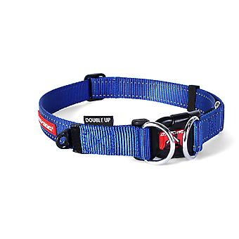 Ezydog Collar Doubleup Azul (Dogs , Collars, Leads and Harnesses , Collars)