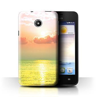 STUFF4 Fall/Abdeckung für Huawei Ascend Y330/Meer/Sonnenuntergang/Vivid Ombre