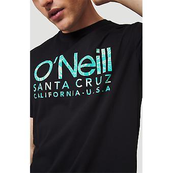 O'Neill Miesten's T-paita ~ Logo musta