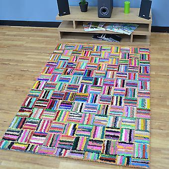 Katoen Chindi Sunshine veelkleurige tapijten 01
