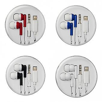 Bullet Switch Ohrhörer mit Multi-Tipps