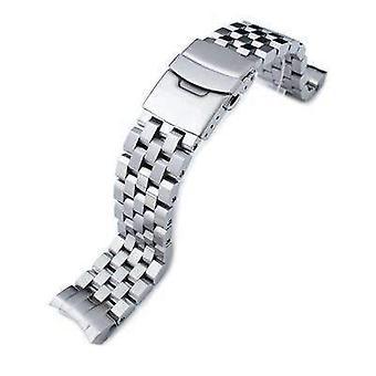 Strapcode watch bracelet 20mm super engineer ii watch band for seiko sumo sbdc001, sbdc003, sbdc005, sbdc031, sbdc033