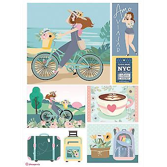 Stamperia Ris Papper A4 Bycicle