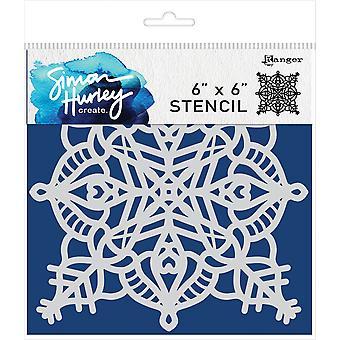 Simon Hurley skapar. Stencil 6&X6&; - Frostbite