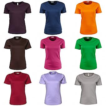 Tee Jays Womens/Ladies Interlock Short Sleeve T-Shirt