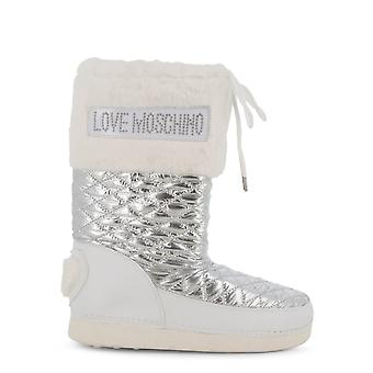 Love Moschino Original Women Fall/Winter Boot - White Color 37985