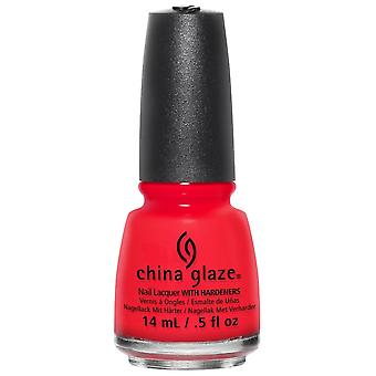 China Glaze Nail Polish Collection - The Heat Is On 14mL (82653)