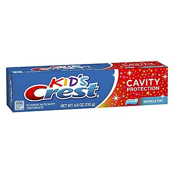 Crest kid's fluoride anticavity toothpaste, sparkle fun, 4.6 oz