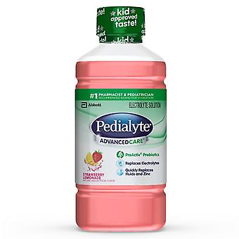 Pedialyte advanced care solution, strawberry lemonade, 1 l