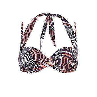 TC WoW - African Continent Multiway Bikini Top - Multicolored