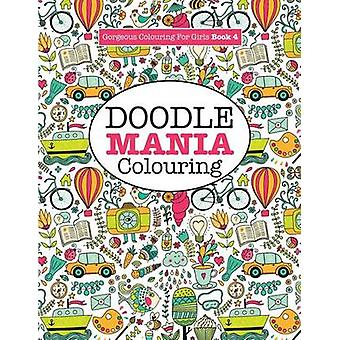 Gorgeous Colouring for Girls  Doodle Mania by James & Elizabeth