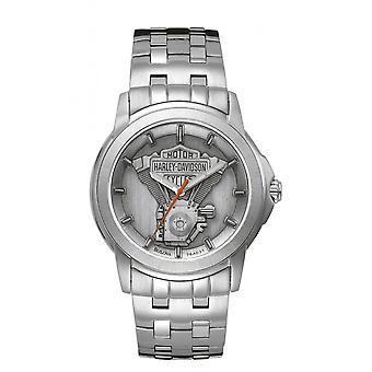 Harley Davidson 76A021 Men's Bracelet Wristwatch