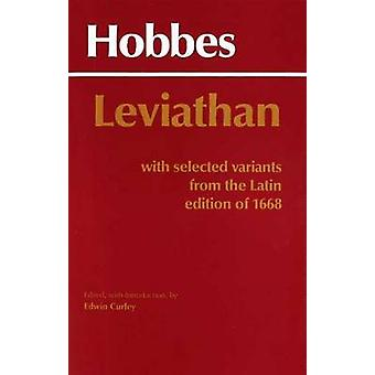 Leviathan - With selected variants from the Latin edition of 1668 by T