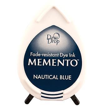 Memento Dew Drop fargestoff Ink Pad-nautiske blå