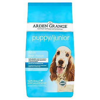 Arden Grange Fresh Chicken Puppy/Junior Dry Dog Food