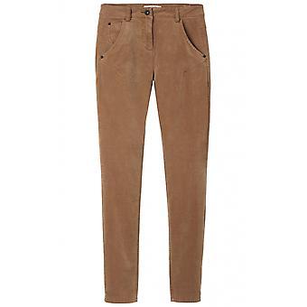 Sandwich Clothing Camel Fine Velvet Trousers