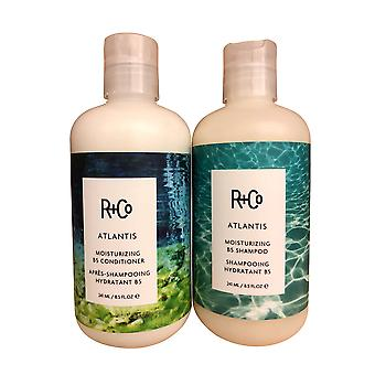 R+Co Atlantis Moisturizing Shampoo & Conditioner Set 8.5 OZ Each