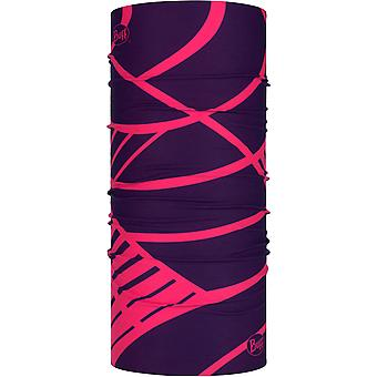 Buff nuovo warmer collo originale in rosa Slasher