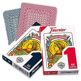 Pack of Spanish Playing Cards (40 Cards) Fournier Nº 1