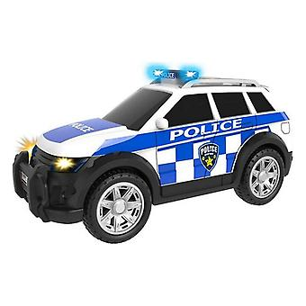 Police Car CYP Teamsterz White