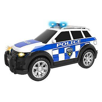 الشرطة سيارة CYP تيمسترز الأبيض
