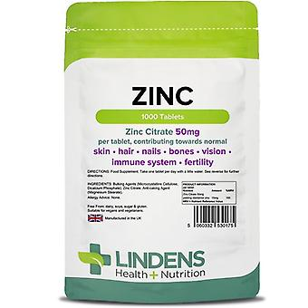Lindens Citrato di zinco 50mg Compresse 1000 (175)
