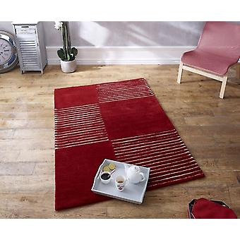 Concept Skye 03 Sunset Red wine  Rectangle Rugs Plain/Nearly Plain Rugs