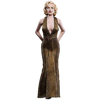 """Marilyn Monroe Gold Dress 12"""" 1:6 Scale Action Figure"""