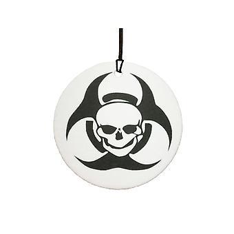 Biohazard Skull Car Air Freshener