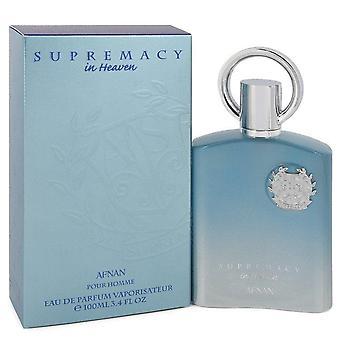 Supremacy In Heaven Eau De Parfum Spray By Afnan 3.4 oz Eau De Parfum Spray